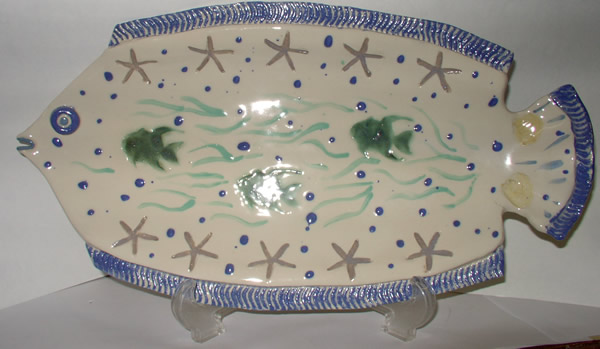 FISH PLATTER by Sue Greene